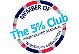 Eurovia UK commits to the next generation by joining The 5% Club