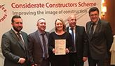 Considerate Constructors win for Ringway at Bletchley
