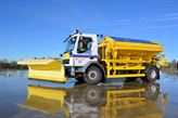 Gritter drivers hone their driving skills with special course